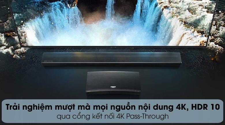 Loa thanh soundbar Samsung 5.1 HW-Q60R - Cổng 4K Pass-Through