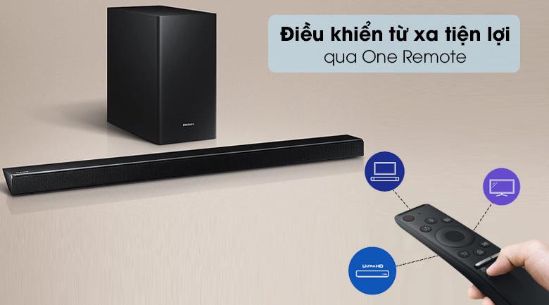 Loa thanh soundbar Samsung 5.1 HW-Q60R - Remote