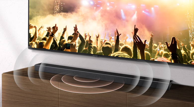 Loa thanh soundbar Samsung 3.1.2 HW-Q70R 330W - Công suất