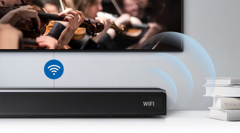 Loa thanh soundbar Samsung 3.1.2 HW-Q70R 330W - Kết nối Bluetooth