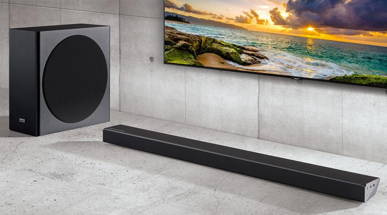 Loa thanh soundbar Samsung 3.1.2 HW-Q70R 330W - Thiết kế