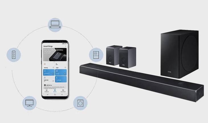 Sử dụng ứng dụng Samsung Audio Remote điều khiển loa soundbar dễ dàng hơn