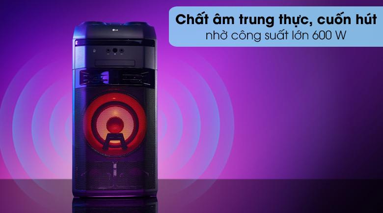 Loa Karaoke LG OL55D 600W - Công suất
