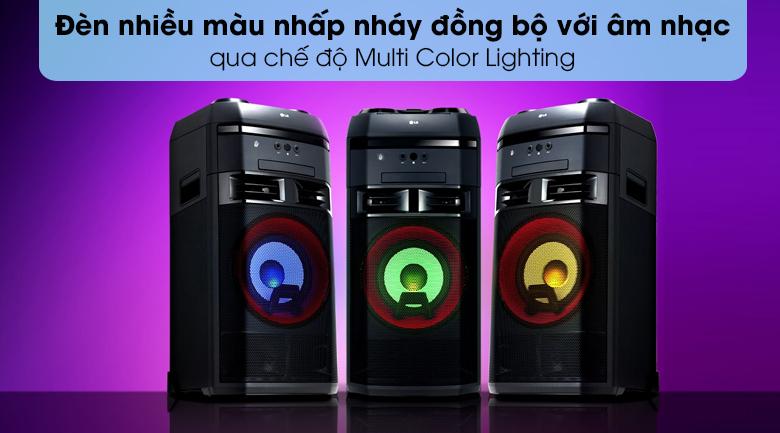 Loa Karaoke LG OL55D 600W - Multi Color Lighting
