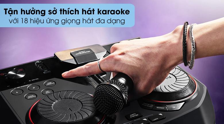 Loa Karaoke LG OL55D 600W - Hát karaoke