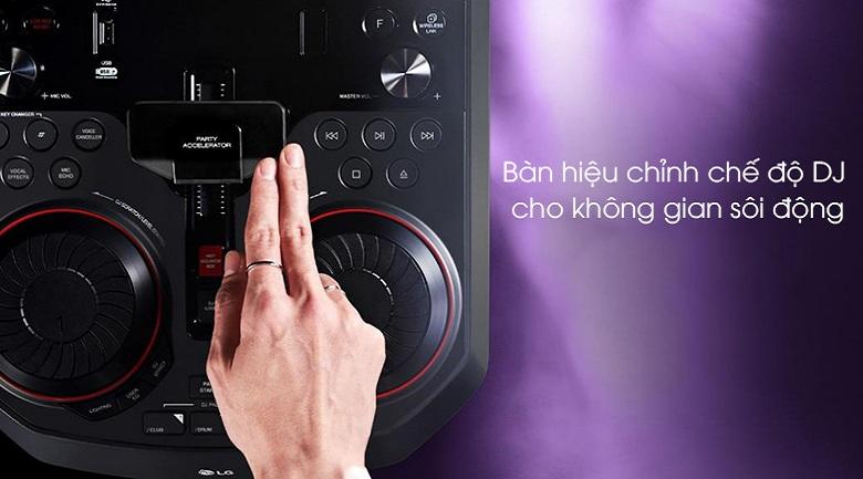 Loa Karaoke LG OL55D 600W - Bàn hiệu chỉnh DJ