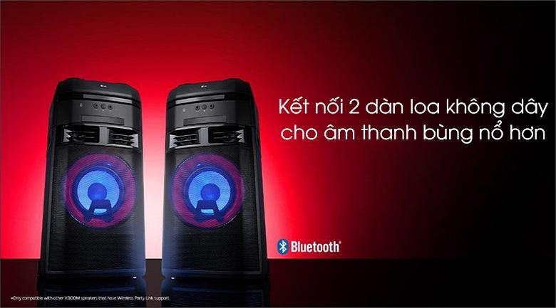 Loa Karaoke LG OL55D 600W - Kết nối 2 loa