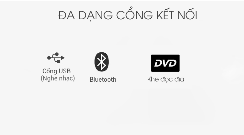 Loa karaoke LG OL45 220W - Cổng kết nối