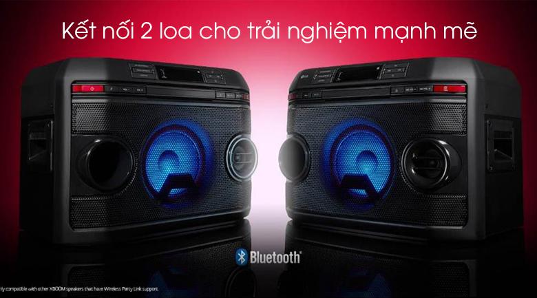 Loa karaoke LG OL45 220W - Kết nối 2 loa