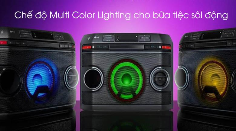 Loa karaoke LG OL45 220W - Chế độ Multi Color Lighting
