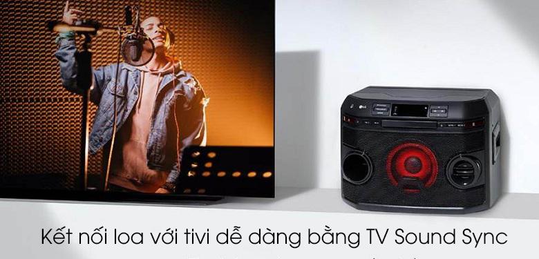 Loa karaoke LG OL45 220W - TV Sound Sync
