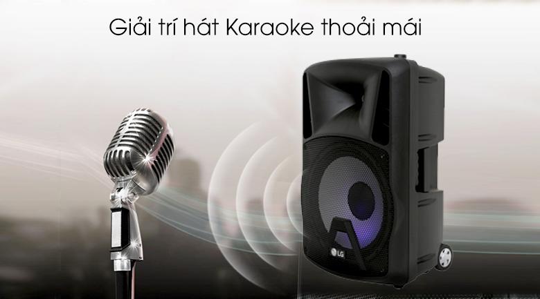 Loa kéo karaoke LG RK4 80W - Hát Karaoke