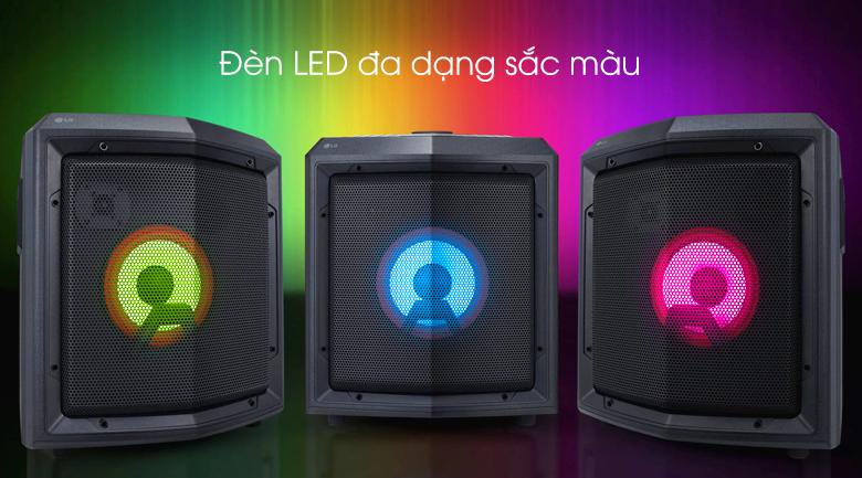 Loa kéo karaoke LG RL2 -  Đèn LED
