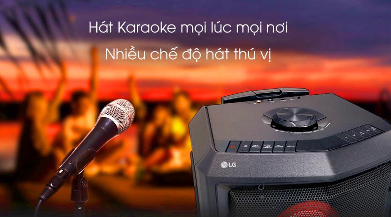 Loa kéo karaoke LG RL2 -  Hát Karaoke