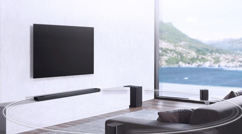 Loa thanh soundbar LG 5.1.2 SL10Y 570W - Âm thanh vòm 5.1.2 kênh