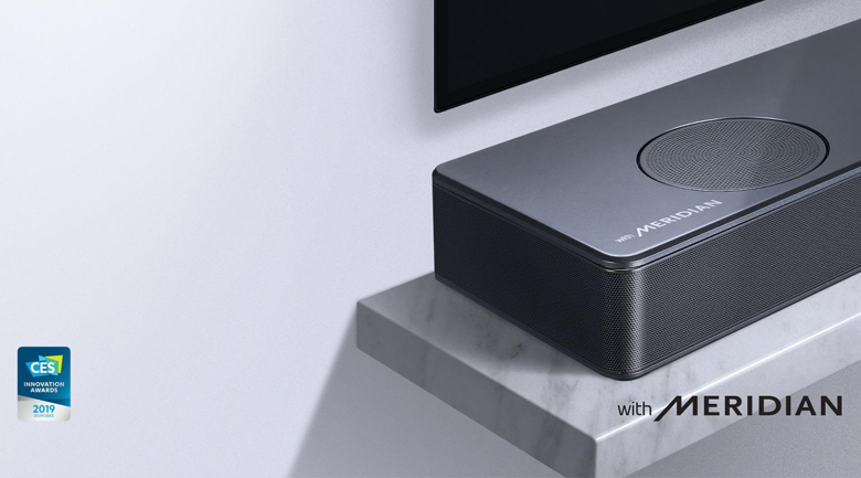 Loa thanh soundbar LG 5.1.2 SL10Y 570W - Meridian