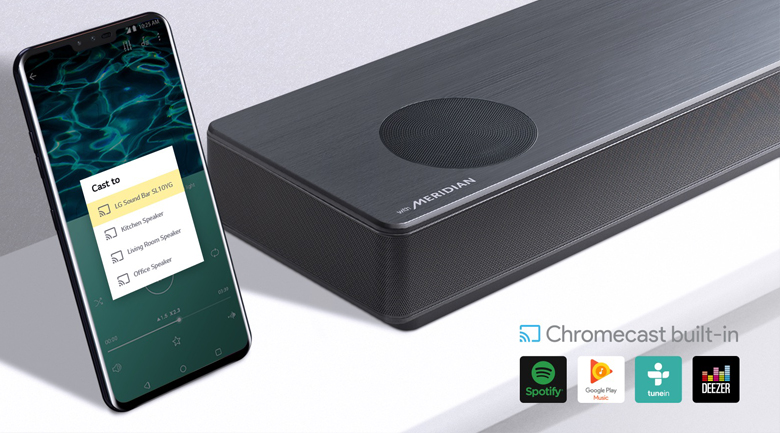 Loa thanh soundbar LG 5.1.2 SL10Y 570W - Google ChromeCast
