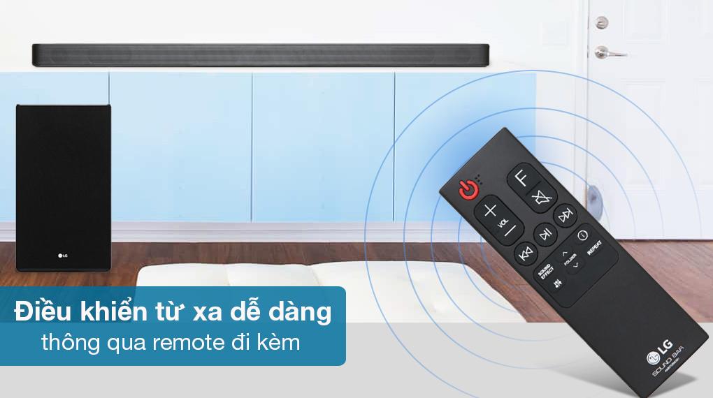 Loa thanh soundbar LG 3.1.2 SL8Y - Remote