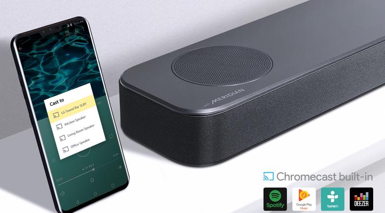 Loa thanh soundbar LG 3.1.2 SL8Y 440W - Google ChromeCast