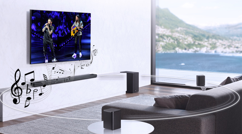 Loa thanh soundbar LG 3.1.2 SL8Y 440W - Công suất