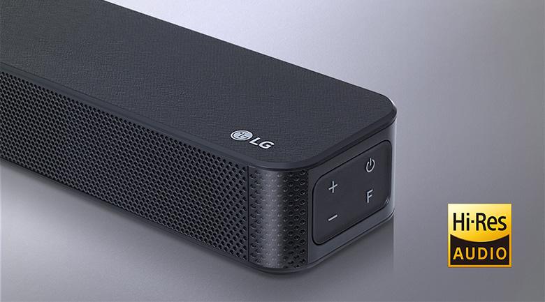 Âm thanh có độ phân giải cao - Dàn âm thanh LG 4.1 SL5R 520W