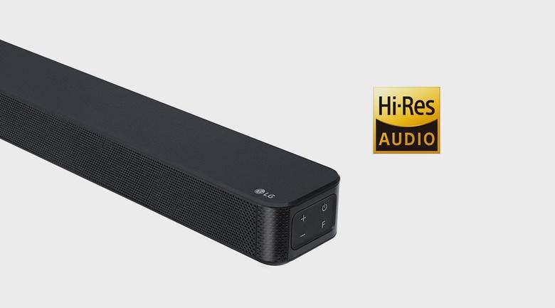 Âm thanh trung thực, có chiều sâu với độ phân giải cao - Loa thanh soundbar LG 2.1 SL4 300W