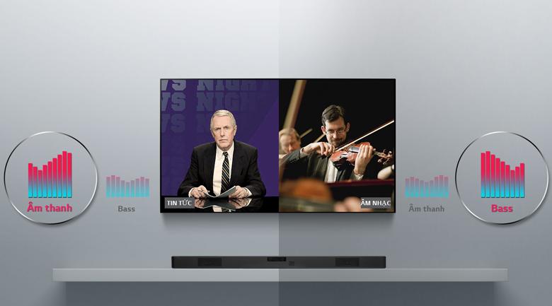 ASC - Loa thanh soundbar LG 2.1 SL4 300W