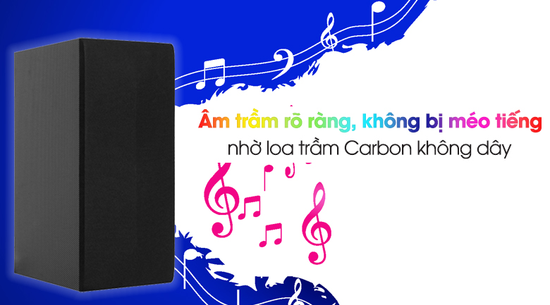Loa thanh soundbar LG 2.1 SL4 300W - Âm siêu trầm nhờ loa Carbon