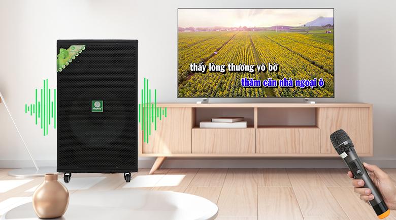 Loa kéo karaoke Mantis MT15-ST1 600W - Karaoke