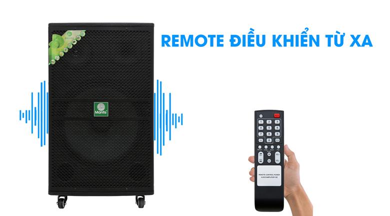 Loa kéo karaoke Mantis MT15-ST1 600W - Remote