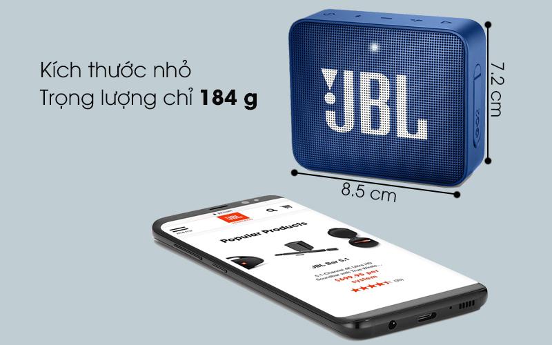 Loa Bluetooth JBL GO2 - Kích thước