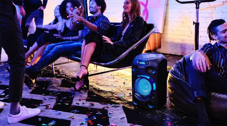 Dàn âm thanh Hifi Sony MHC-V02 - Kiểu dáng