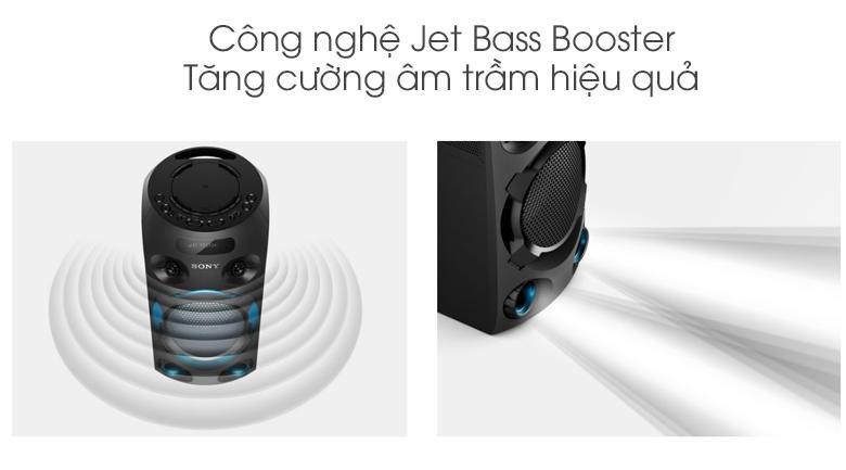 Dàn âm thanh Hifi Sony MHC-V02 - Jet Bass Booster