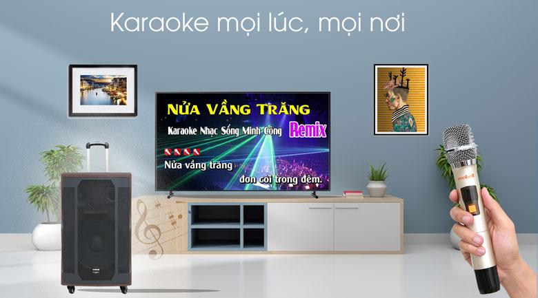 Loa kéo Karaoke Mobell K1507 1000W - Karaoke