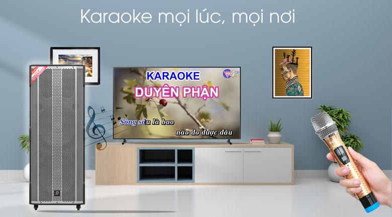 Loa Điện Karaoke Dalton TS-15A2500 1600W - Micro karaoke chuyên dụng