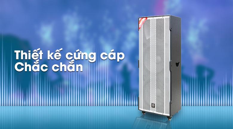 Loa Điện Karaoke Dalton TS-15A2500 1600W - thiết kế