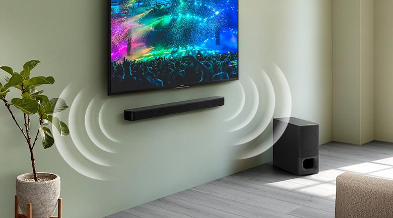 Loa thanh soundbar Sony 2.1 HT-S350 320W - Thiết kế