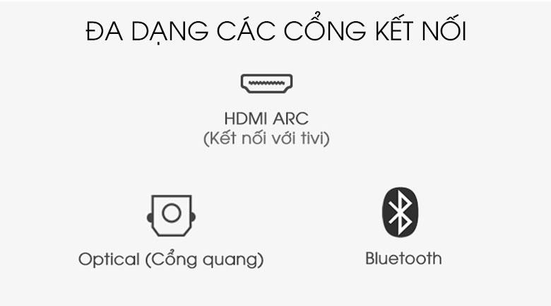 Loa thanh soundbar Sony 2.1 HT-S350 320W - cổng kết nối