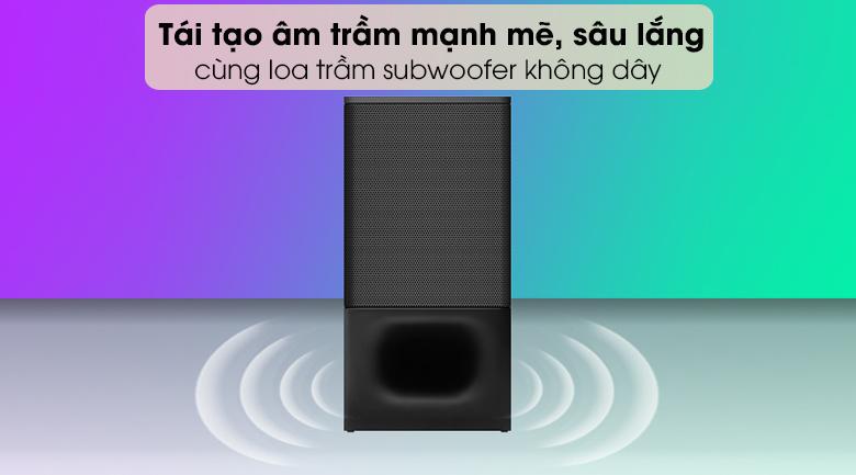 Loa thanh soundbar Sony 2.1 HT-S350 320W - Loa trầm mạnh mẽ