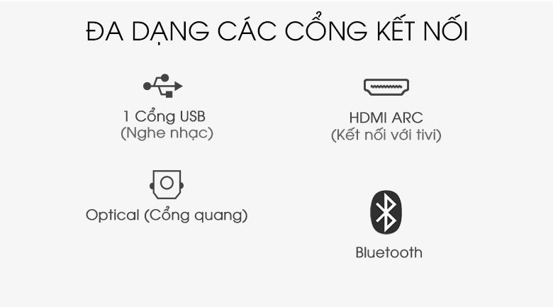Loa thanh soundbar Sony 2.1 HT-S350 320W - Kết nối
