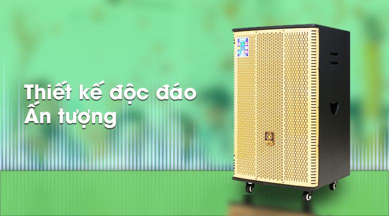 Loa Điện Karaoke Birici MX-900 560W - Thiết kế