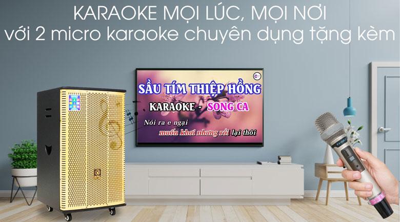 Loa Điện Karaoke Birici MX-900 560W - Karaoke