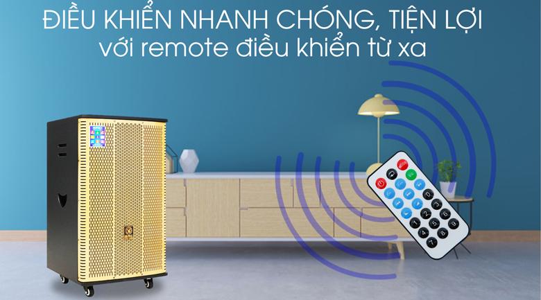 Loa Điện Karaoke Birici MX-900 560W - Remote