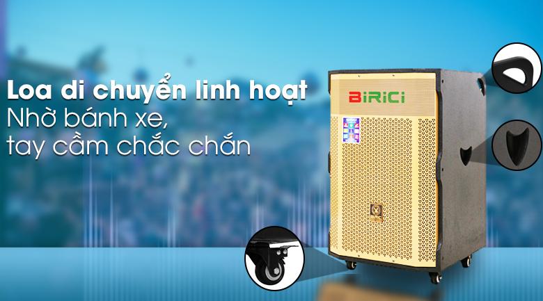 Loa Kéo Karaoke Birici MX-1000 500W - Di chuyển linh hoạt