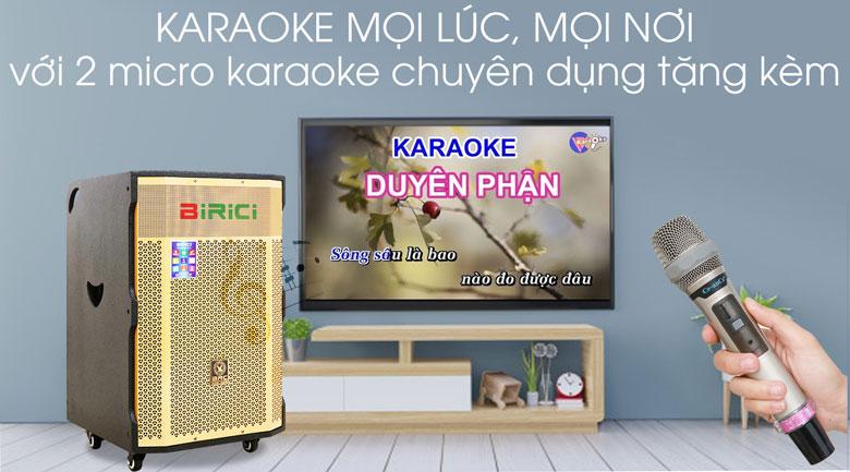 Loa Kéo Karaoke Birici MX-1000 500W - Karaoke