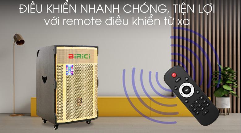 Loa Kéo Karaoke Birici MX-1000 500W - Remote