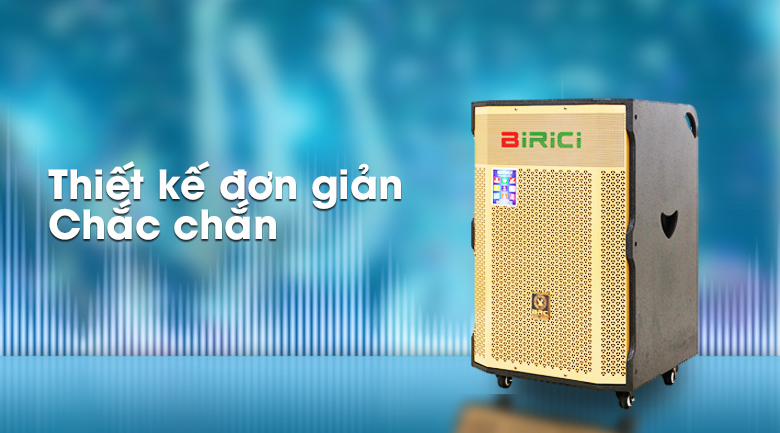 Loa Kéo Karaoke Birici MX-1000 500W - Thiết kế