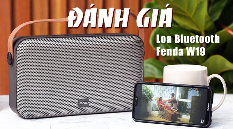 Loa Bluetooth Fenda W19