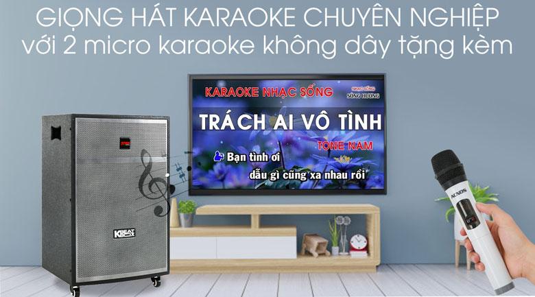 Loa Kéo Karaoke Acnos CBX15G 450W - Karaoke