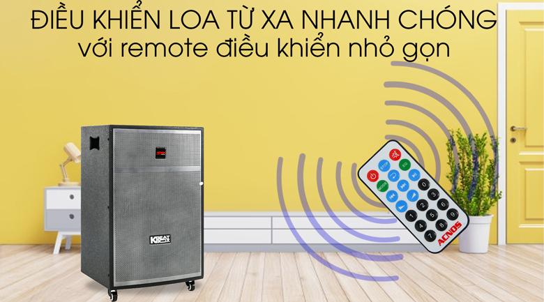 Loa Kéo Karaoke Acnos CBX15G 450W - Remote